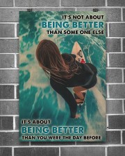 Surfing Girl Better Than You Were 24x36 Poster aos-poster-portrait-24x36-lifestyle-18