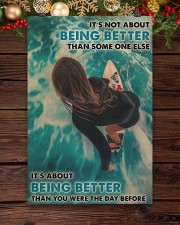 Surfing Girl Better Than You Were 24x36 Poster aos-poster-portrait-24x36-lifestyle-20