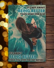 Surfing Girl Better Than You Were 24x36 Poster aos-poster-portrait-24x36-lifestyle-22