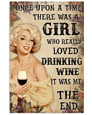 OUAT Girl Loved Drinking Wine 24x36 Poster front