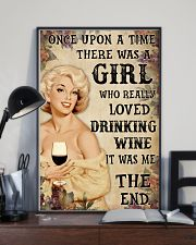 OUAT Girl Loved Drinking Wine 24x36 Poster lifestyle-poster-2