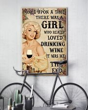 OUAT Girl Loved Drinking Wine 24x36 Poster lifestyle-poster-7
