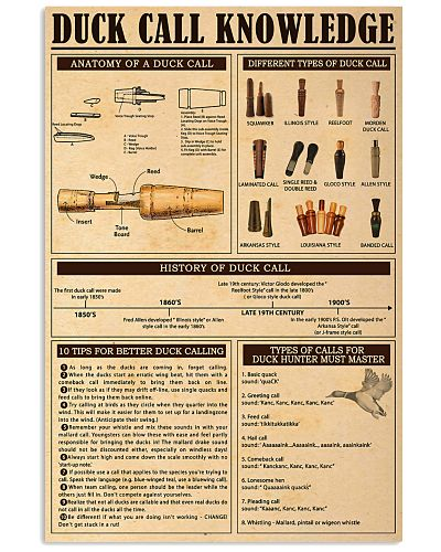 Duck Call Knowledge