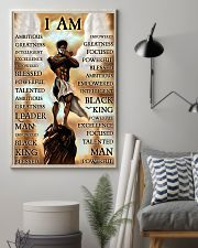 Black Angel I Am 24x36 Poster lifestyle-poster-1