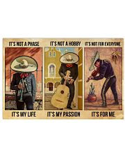 Mexican Musician It's My Life 36x24 Poster front