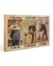 Mexican Musician It's My Life Gallery Wrapped Canvas Prints tile