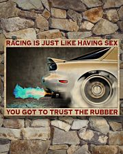 Racing Trust The Rubber 36x24 Poster poster-landscape-36x24-lifestyle-15