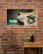 Racing Trust The Rubber 36x24 Poster poster-landscape-36x24-lifestyle-20