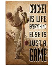 Cricket Is Life 2 24x36 Poster front