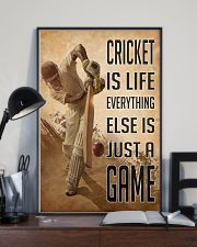 Cricket Is Life 2 24x36 Poster lifestyle-poster-2