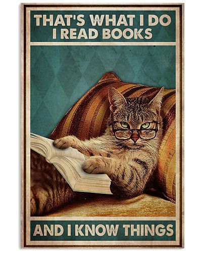 Cat Reads Books And Knows Things