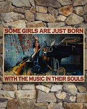 Girl Born With The Music 36x24 Poster poster-landscape-36x24-lifestyle-15