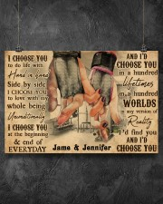Gym Couple I Choose You 36x24 Poster aos-poster-landscape-36x24-lifestyle-11