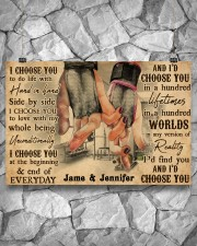 Gym Couple I Choose You 36x24 Poster aos-poster-landscape-36x24-lifestyle-12