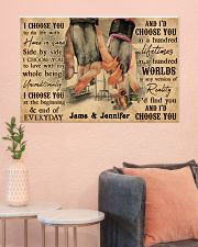 Gym Couple I Choose You 36x24 Poster poster-landscape-36x24-lifestyle-18