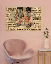Gym Couple I Choose You 36x24 Poster poster-landscape-36x24-lifestyle-19