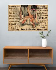 Gym Couple I Choose You 36x24 Poster poster-landscape-36x24-lifestyle-21