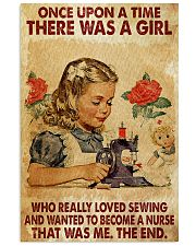 OUAT A Girl Loved Sewing Wanted To Become A Nurse 24x36 Poster front