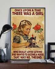 OUAT A Girl Loved Sewing Wanted To Become A Nurse 24x36 Poster lifestyle-poster-2