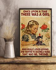 OUAT A Girl Loved Sewing Wanted To Become A Nurse 24x36 Poster lifestyle-poster-3