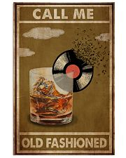 Old Fashioned Vinyl 24x36 Poster front