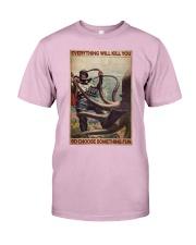 Scuba Diving Octopus Classic T-Shirt tile