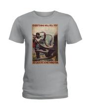 Scuba Diving Octopus Ladies T-Shirt tile