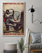 Scuba Diving Octopus 24x36 Poster lifestyle-poster-1
