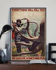 Scuba Diving Octopus 24x36 Poster lifestyle-poster-2