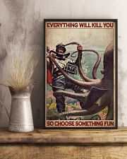 Scuba Diving Octopus 24x36 Poster lifestyle-poster-3