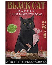 Black Cat Shut The Fucupcakes 2 24x36 Poster front