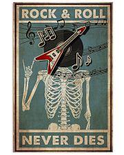 Skeleton Rock 'n Roll  24x36 Poster front
