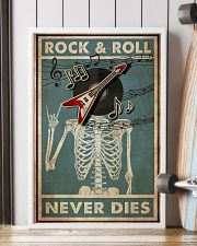 Skeleton Rock 'n Roll  24x36 Poster lifestyle-poster-4