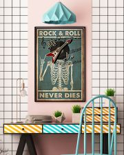 Skeleton Rock 'n Roll  24x36 Poster lifestyle-poster-6