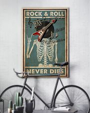 Skeleton Rock 'n Roll  24x36 Poster lifestyle-poster-7