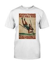 Pole Vaulting Choose Something Fun Classic T-Shirt tile