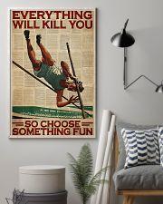 Pole Vaulting Choose Something Fun 24x36 Poster lifestyle-poster-1