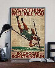 Pole Vaulting Choose Something Fun 24x36 Poster lifestyle-poster-2