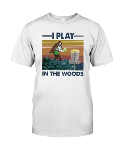 Bigfoot Disc Golf I Play In The Woods