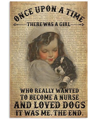 Girl Nurse And Dog Dictionary 2