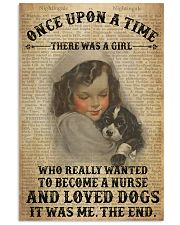 Girl Nurse And Dog Dictionary 2 24x36 Poster front