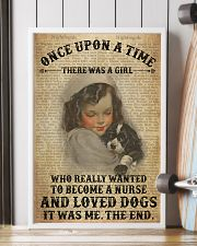 Girl Nurse And Dog Dictionary 2 24x36 Poster lifestyle-poster-4