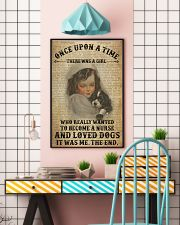 Girl Nurse And Dog Dictionary 2 24x36 Poster lifestyle-poster-6