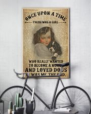 Girl Nurse And Dog Dictionary 2 24x36 Poster lifestyle-poster-7