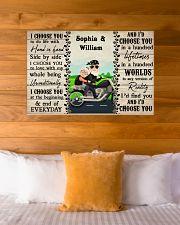 Couple Biker I Choose You 36x24 Poster poster-landscape-36x24-lifestyle-23