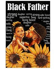 Black Father 24x36 Poster front