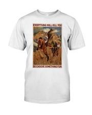 Alpinist Choose Something Fun Classic T-Shirt tile