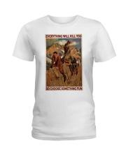 Alpinist Choose Something Fun Ladies T-Shirt tile