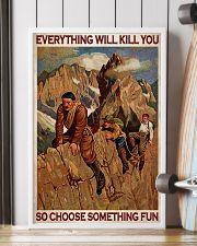 Alpinist Choose Something Fun 24x36 Poster lifestyle-poster-4