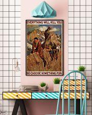 Alpinist Choose Something Fun 24x36 Poster lifestyle-poster-6
